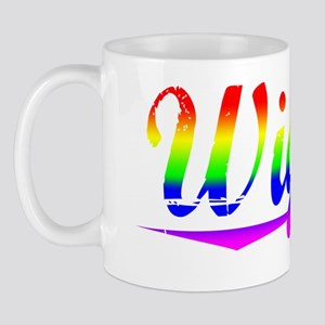 Wiggin, Rainbow, Mug