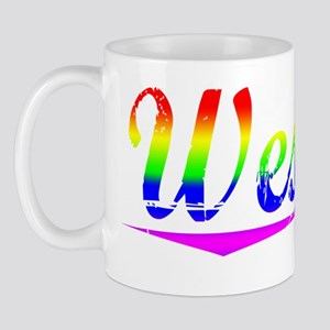 Wesson, Rainbow, Mug