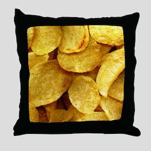potatochips Throw Pillow