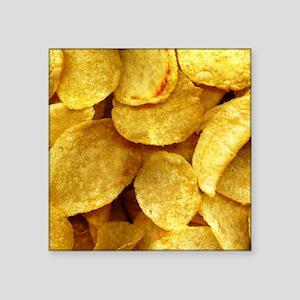 """potatochips Square Sticker 3"""" x 3"""""""