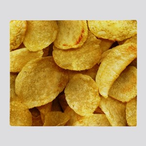 potatochips Throw Blanket
