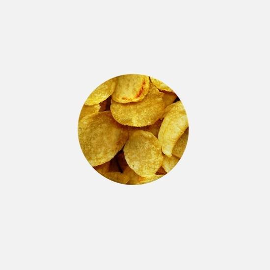 potatochips Mini Button