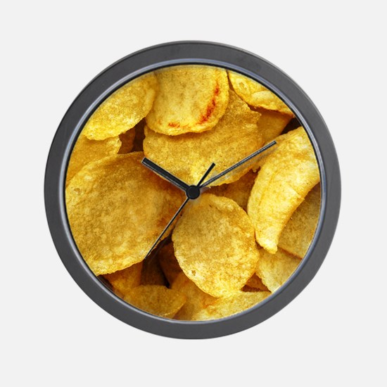 potatochips Wall Clock
