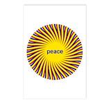 Swirling Star Peace (8 Postcards)