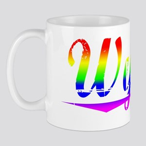 Wynne, Rainbow, Mug
