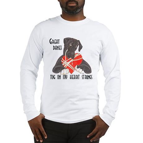 N Blk/Wht Tug Long Sleeve T-Shirt