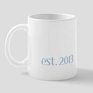 New Daddy Est 2013 Mug