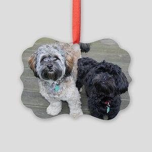 Burt&Ernie Picture Ornament