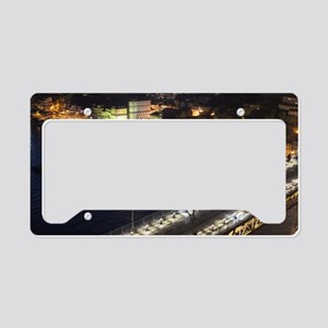 Riberia by Night License Plate Holder