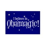 I Believe in Obamagic Rectangle Magnet