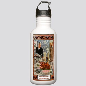 Thanksgiving meal Stainless Water Bottle 1.0L