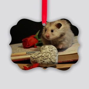 Hamster 1 Picture Ornament