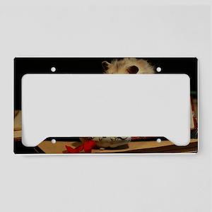 Hamster 1 License Plate Holder