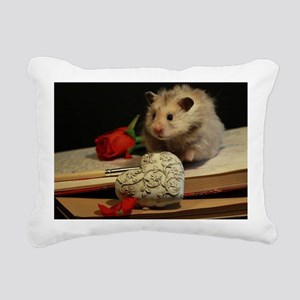 Hamster 1 Rectangular Canvas Pillow