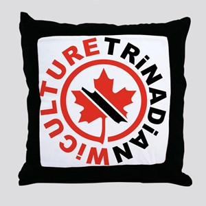 Trinadian Throw Pillow