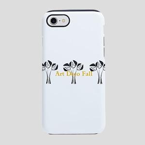 Art Deco Style Floral iPhone 7 Tough Case