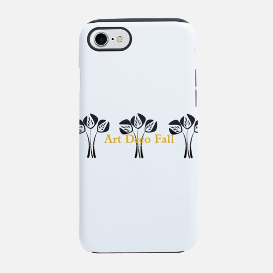 Art Deco Style Floral iPhone 7 Tough Case