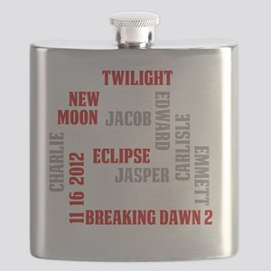 Twilight Saga Subway Art Flask
