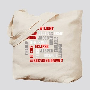 Twilight Saga Subway Art Tote Bag
