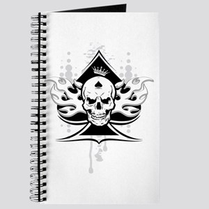 ace of spades skull Journal