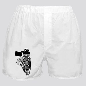 Chad G.  Made in Illinois Boxer Shorts