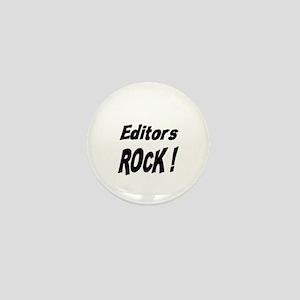 Editors Rock ! Mini Button