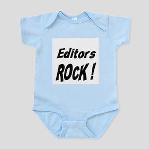 Editors Rock ! Infant Bodysuit