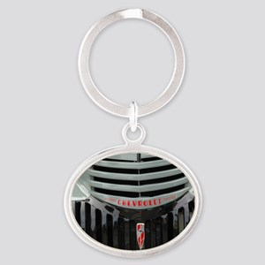 Grilled Cheese Oval Keychain
