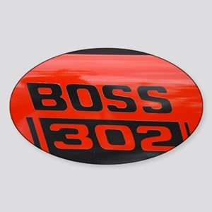 Boss Sticker (Oval)