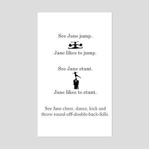 See Jane Cheer sticker