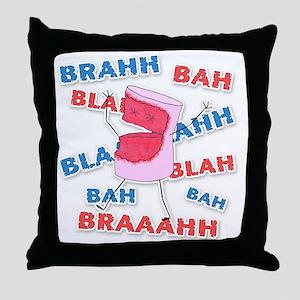 mm-d8-WhiteApparel Throw Pillow
