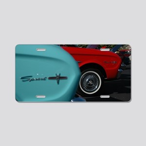 Color Run Aluminum License Plate