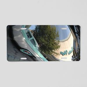 The Plaza Aluminum License Plate