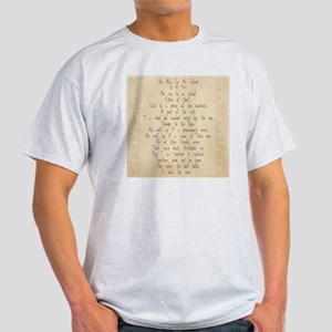 For Whom the Bell Tolls Light T-Shirt