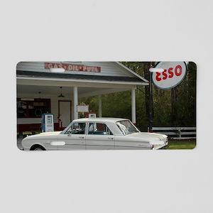 Esso Expresso Aluminum License Plate