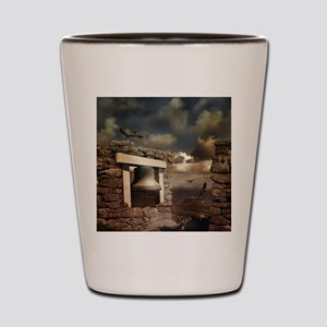 For Whom the Bell Tolls Shot Glass