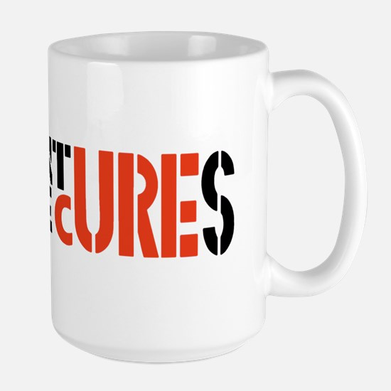 ADVENTURES FOR THE CURE Large Mug