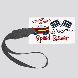 Speed Racer Large Luggage Tag