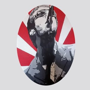 Liam Gallagher Oval Ornament