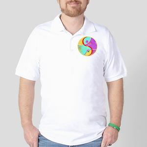 Tennis Ying Yang Golf Shirt
