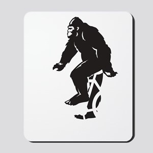 Bigfoot Rides Mousepad
