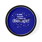 Obamagic in 2008 Wall Clock