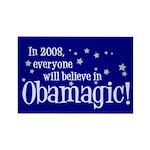 Obamagic in 2008 Rectangle Magnet