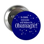 Obamagic in 2008 Button
