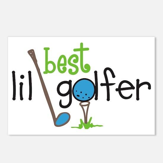 Best Lil Golfer Postcards (Package of 8)