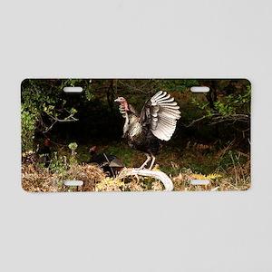 Wild Turkey Wingspread Aluminum License Plate