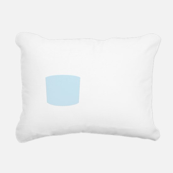 Technically the glass is Rectangular Canvas Pillow