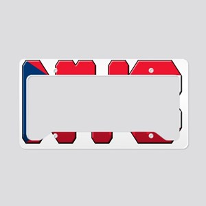 New York Puerto Rican License Plate Holder