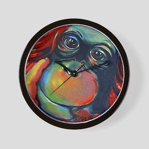 Orangutan Sam Wall Clock