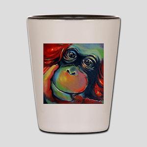 Orangutan Sam Shot Glass
